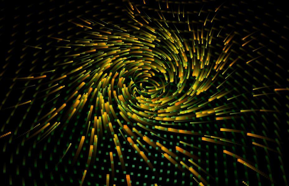 快手超火的HTML5 Canvas粒子漩涡动画特效-小姚工作室